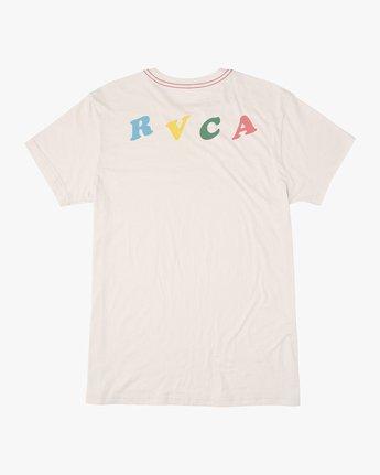 1 Dolphin Club Luke Pelletier T-Shirt White M402NRDO RVCA