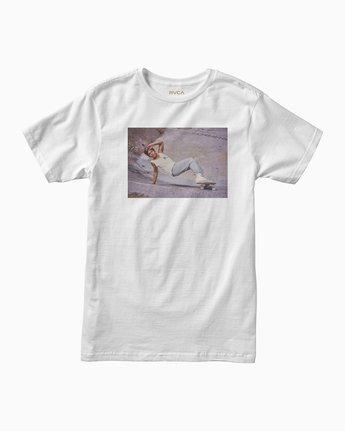 0 Christian Hosoi Oblow Layback T-Shirt White M410SRHS RVCA
