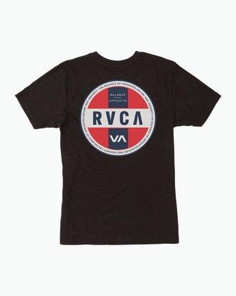 0 Indobrok Pocket T-Shirt Black M412SRIN RVCA