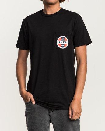 2 Indobrok Pocket T-Shirt Black M412SRIN RVCA