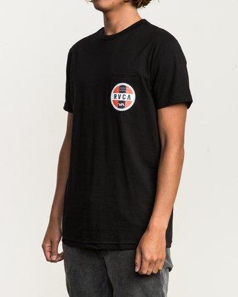 3 Indobrok Pocket T-Shirt Black M412SRIN RVCA