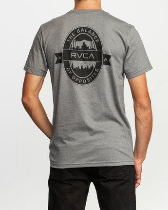 4 Barley T-Shirt Grey M412TRBA RVCA