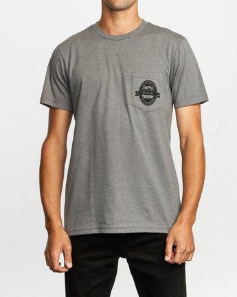 2 Barley T-Shirt Grey M412TRBA RVCA