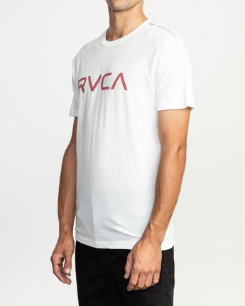 2 Big RVCA T-Shirt White M420SRBI RVCA