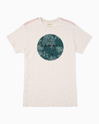 0 Da Aina Sphere T-Shirt White M420TRDS RVCA