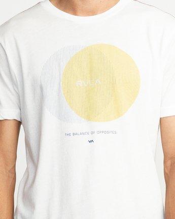 5 Eclipsed T-Shirt White M420TREC RVCA
