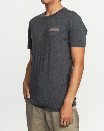 3 Industry T-Shirt Black M420TRIN RVCA