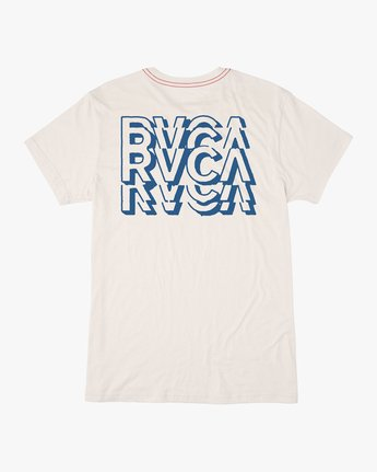0 Ripper T-Shirt White M420TRRI RVCA