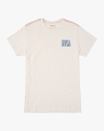 1 Ripper T-Shirt White M420TRRI RVCA