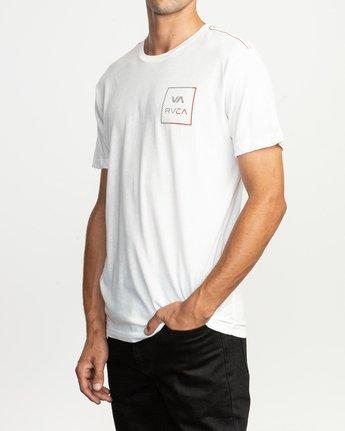 3 Segment T-Shirt White M420TRSE RVCA