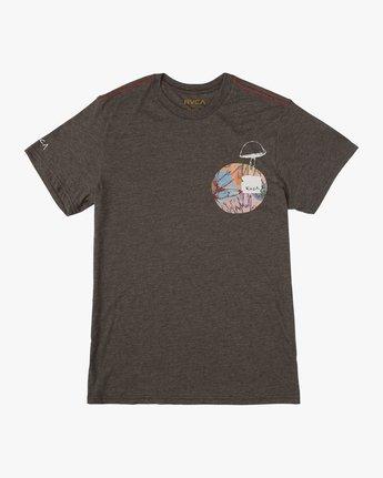 1 Sage Vaughn T-Shirt Black M420TRVA RVCA