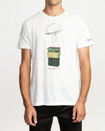 1 Sage Vaughn T-Shirt White M420TRVA RVCA