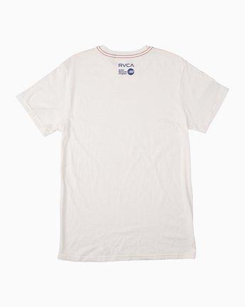 1 Trav T-Shirt White M422MRTS RVCA