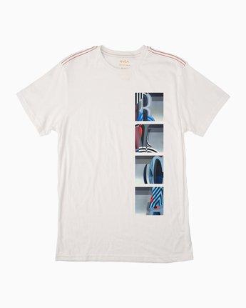 0 Trav T-Shirt White M422MRTS RVCA