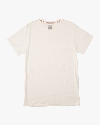 1 Campbell Brothers Bonzer T-Shirt White M422QRBO RVCA