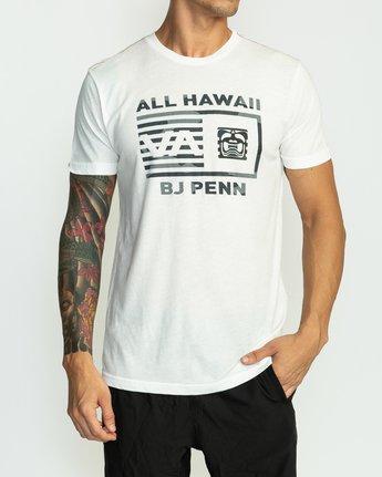 2 BJ Penn Box T-Shirt White M422SRPE RVCA