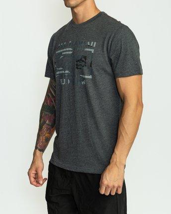 3 BJ Penn Box T-Shirt Black M422SRPE RVCA