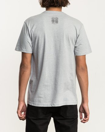 4 Campbell Brothers Freedom Of Choice T-Shirt Grey M426QRFR RVCA