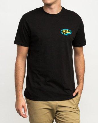2 Looped T-Shirt Black M426QRLO RVCA
