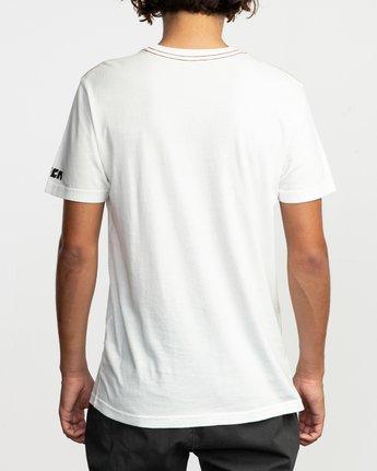 3 Alex Matus Aina T-Shirt White M430TRAS RVCA