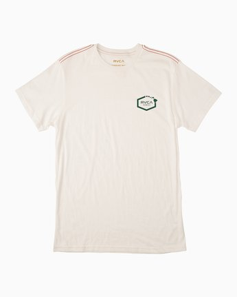 1 Islands Hex Hawaii T-Shirt White M430TRIS RVCA