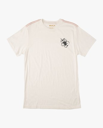 1 Sage Vaughn Mono Flower T-Shirt White M430TRMO RVCA