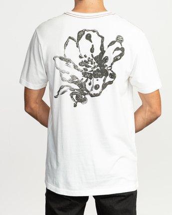 5 Sage Vaughn Mono Flower T-Shirt White M430TRMO RVCA