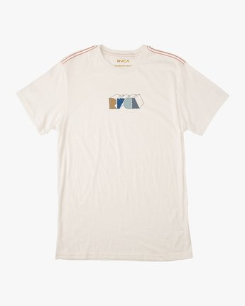 0 Perspect T-Shirt White M430TRPE RVCA