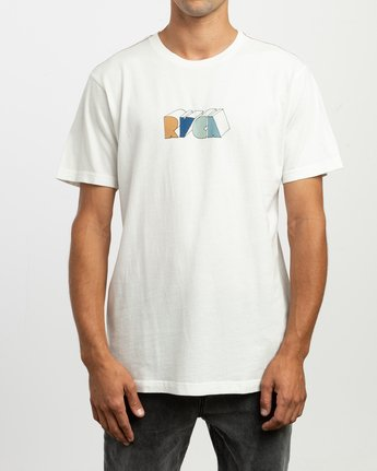 2 Perspect T-Shirt White M430TRPE RVCA