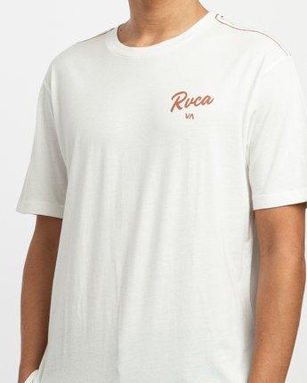 4 Postmark T-Shirt White M430TRPO RVCA