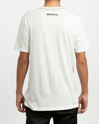 4 Zurich T-Shirt White M430TRZU RVCA