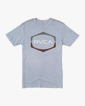 0 Unleaded T-Shirt Blue M432SRUN RVCA