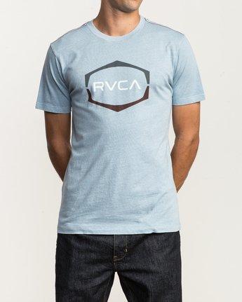 1 Unleaded T-Shirt Blue M432SRUN RVCA