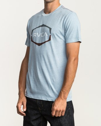 2 Unleaded T-Shirt Blue M432SRUN RVCA
