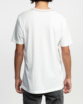3 PTC Standard Wash Pocket T-Shirt White M436TRPT RVCA