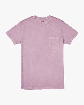 0 PTC 2 Pigment T-Shirt Purple M437TRPT RVCA