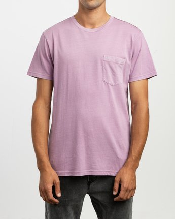 1 PTC 2 Pigment T-Shirt Purple M437TRPT RVCA