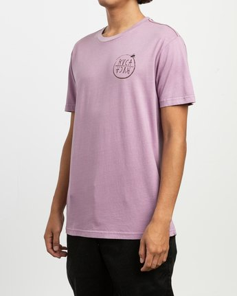 3 Ben Horton Hivemind T-Shirt Purple M438TRHI RVCA