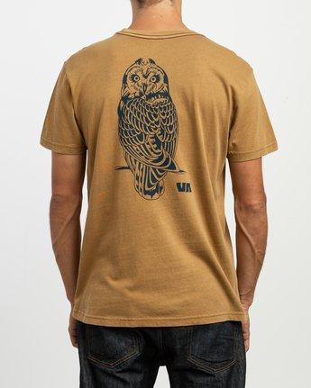 4 Alex Matus Pueo T-Shirt Brown M438TRPU RVCA