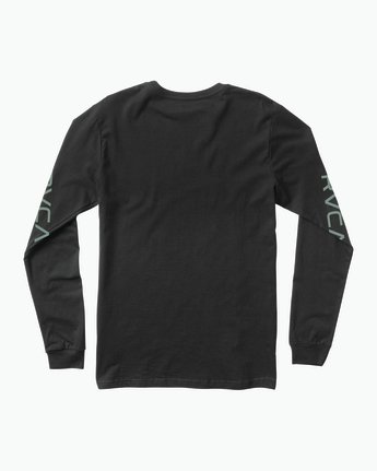 1 RVCA ANP Long Sleeve T-Shirt Black M451SRRV RVCA