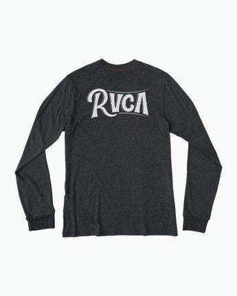0 Sagebrush Long Sleeve T-Shirt Black M452SRSA RVCA