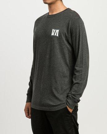 3 Sagebrush Long Sleeve T-Shirt Black M452SRSA RVCA