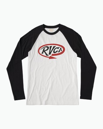 0 Looped T-Shirt Black M454QRLO RVCA