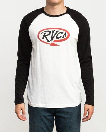 1 Looped T-Shirt Black M454QRLO RVCA