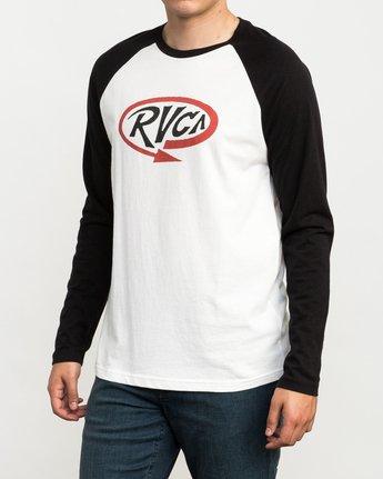 3 Looped T-Shirt Black M454QRLO RVCA
