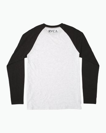 1 Mistress Baseball Raglan T-Shirt White M454SRMI RVCA