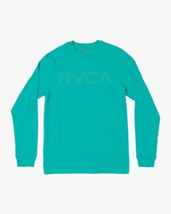 0 Pinner Long Sleeve T-Shirt Green M460QRRV RVCA