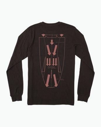 0 Campbell Venturi Long Sleeve T-Shirt Black M463SRVE RVCA
