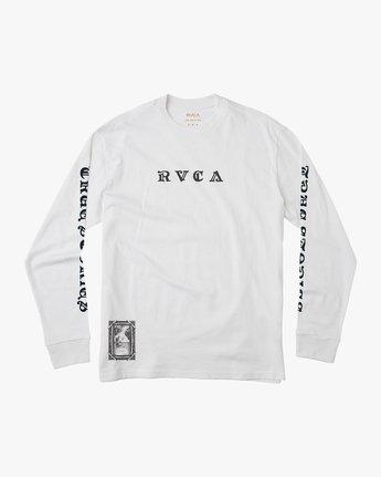 1 JeanJean Detention Long Sleeve T-Shirt White M492QRDE RVCA