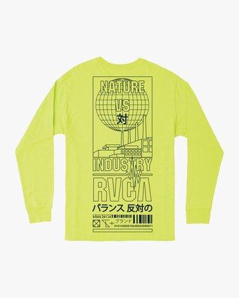 0 Super Fun Long Sleeve T-Shirt Yellow M492TRSU RVCA
